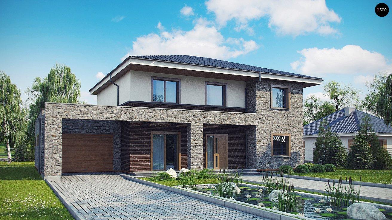 Проект дома Zx109 P - 1