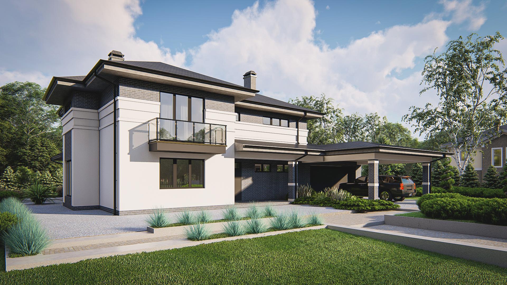 Проект дома Zz13 - 1