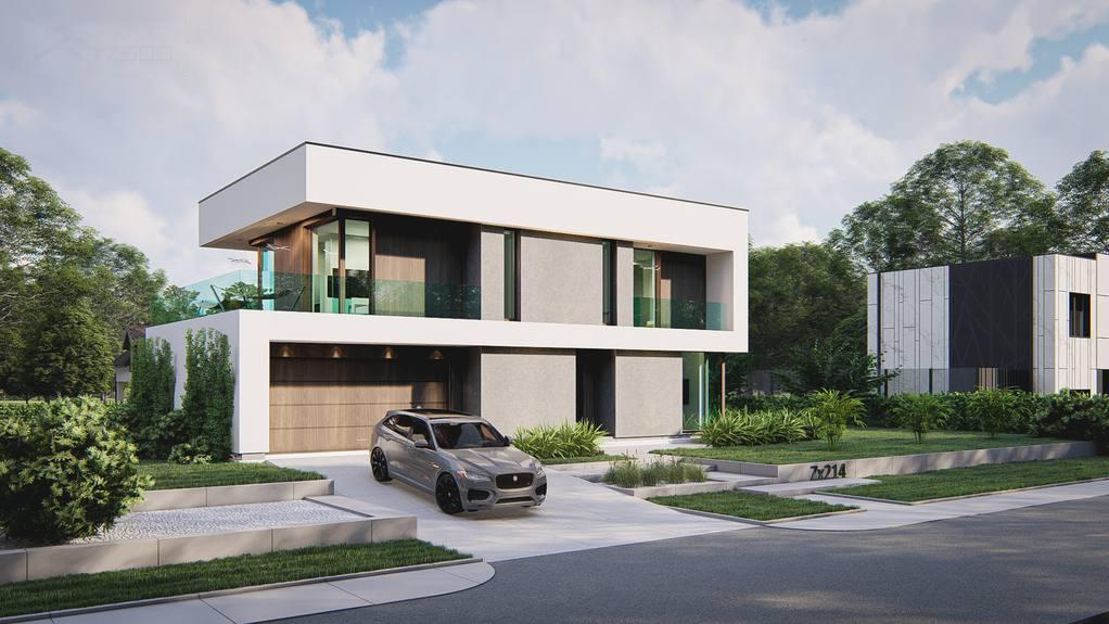 Проект дома Zx214 - 1