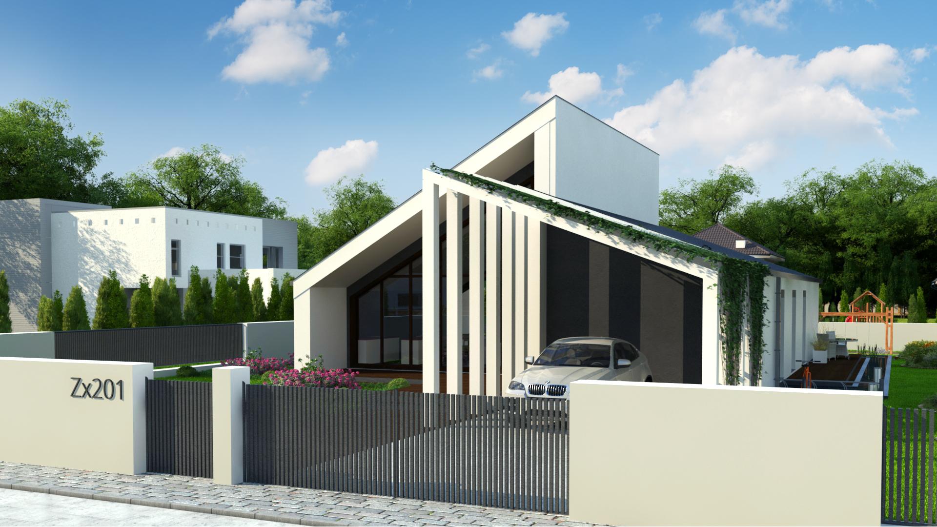 Проект дома Zx201+ - 1