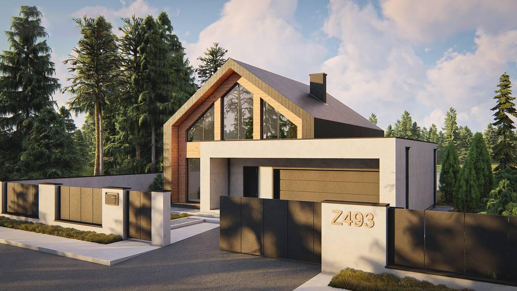 Проект дома Z493 - 1