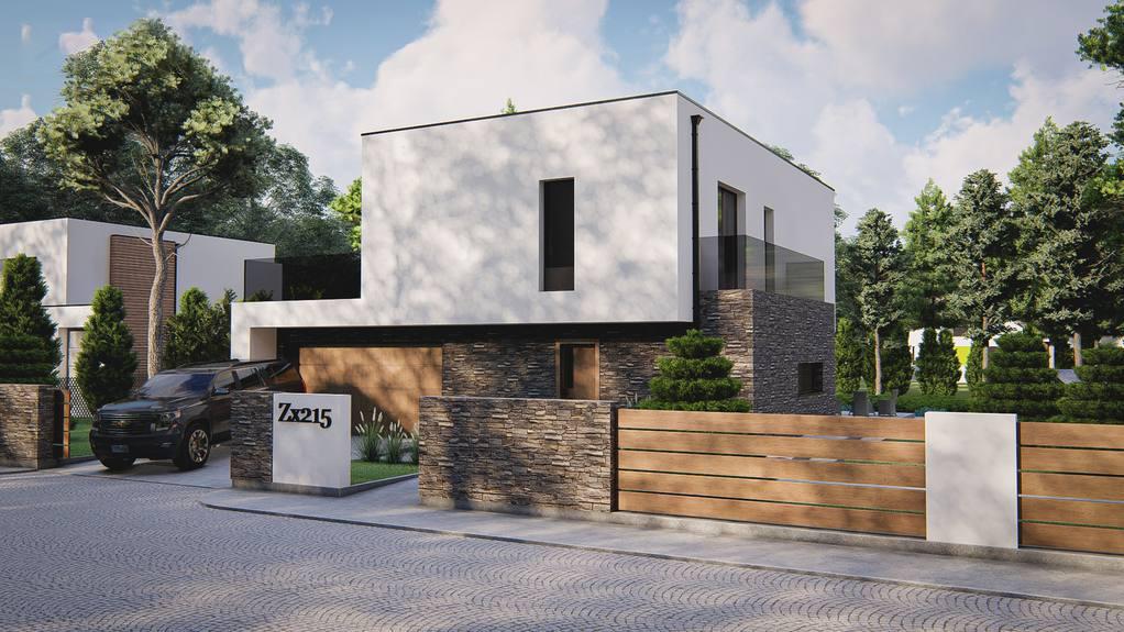 Проект дома Zx215 - 1
