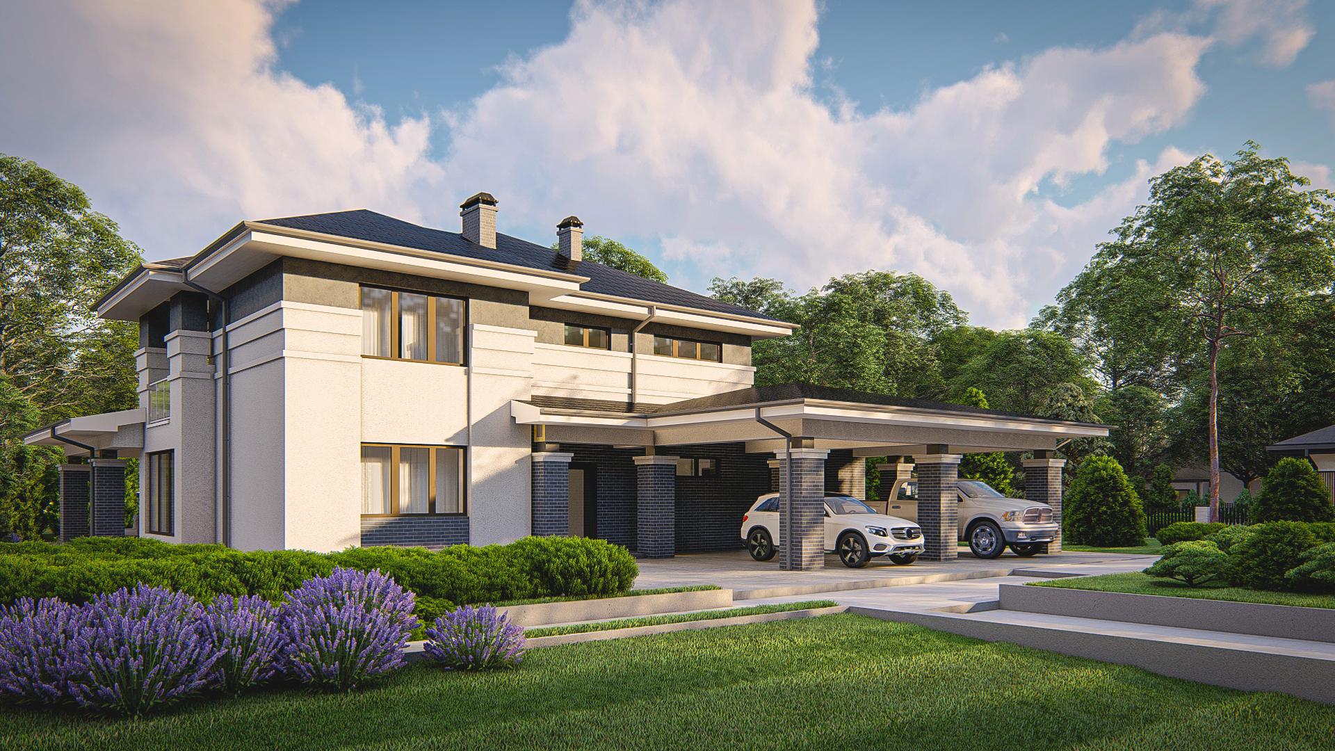 Проект дома Zz14 - 1
