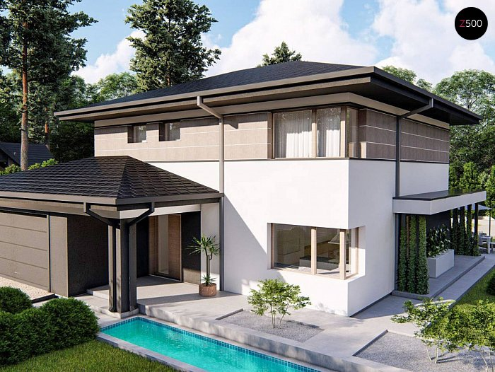 Проект дома Z426 V1 - 1