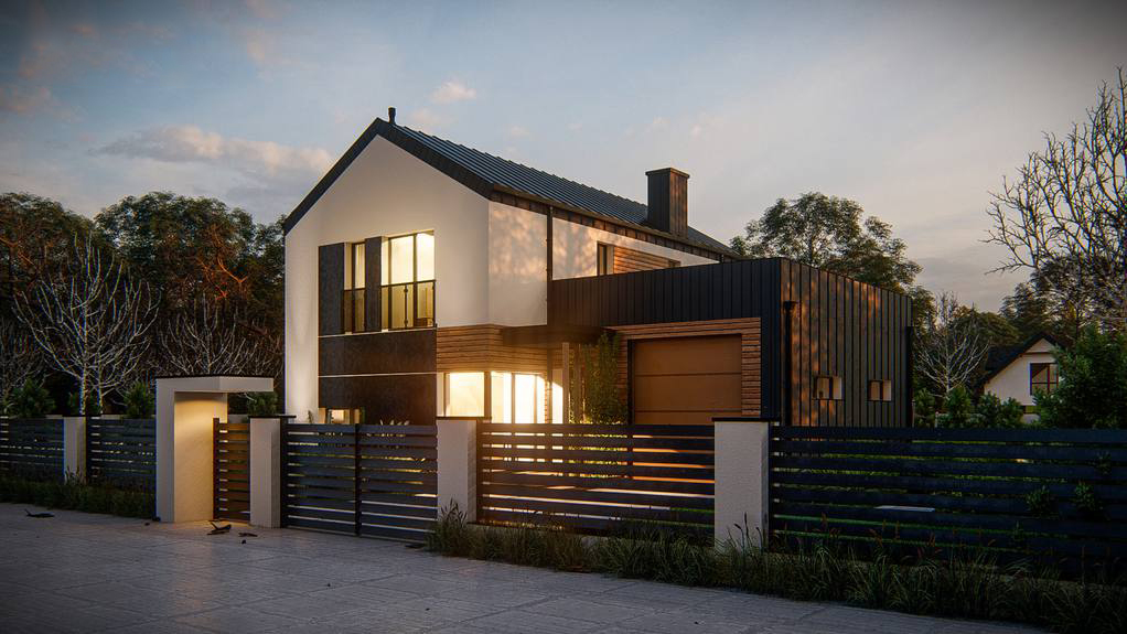 Проект дома Z414 - 1