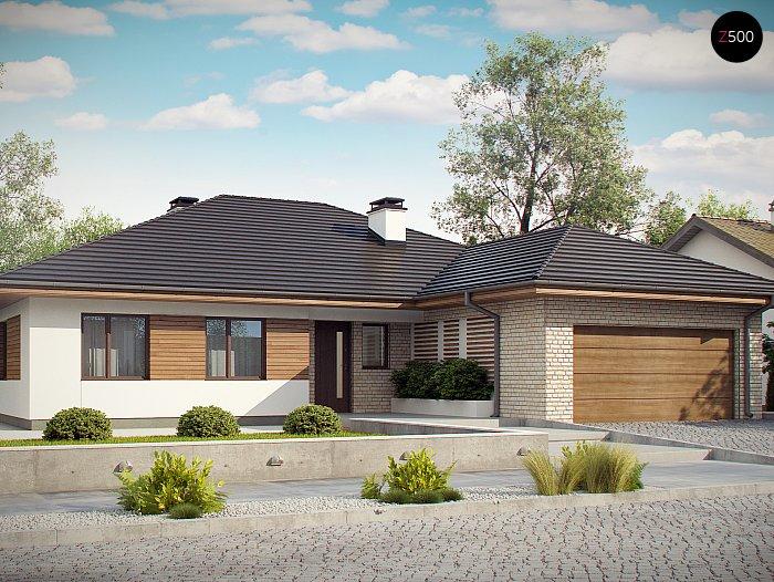 Проект дома Z301 S - 1