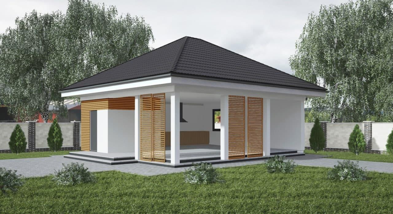 Проект дома Za4 - 1