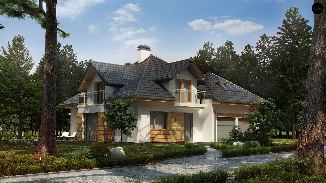 Проект дома Z270 A PK - 1