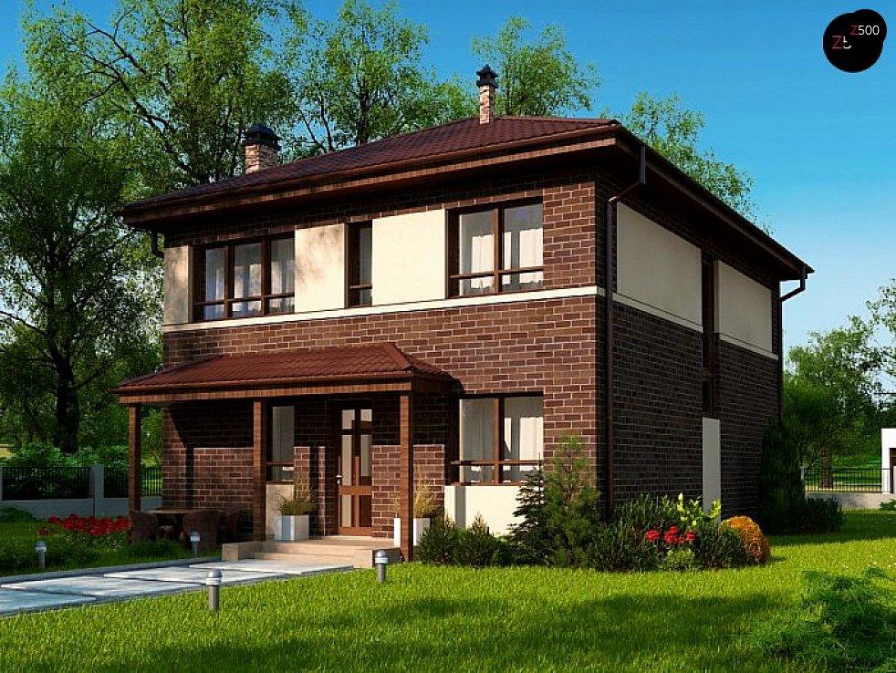 Проект дома Zx24 a v1 - 1