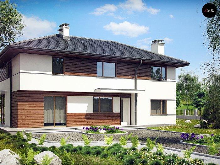 Проект дома Z159 P - 1