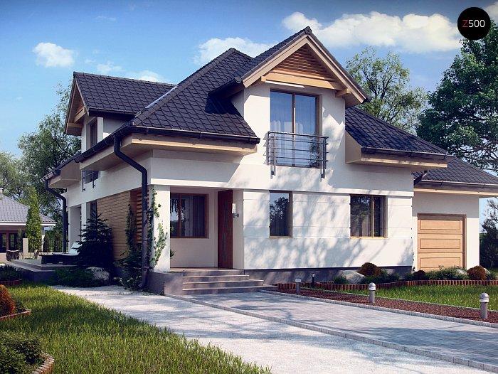 Проект дома Z284 P - 1