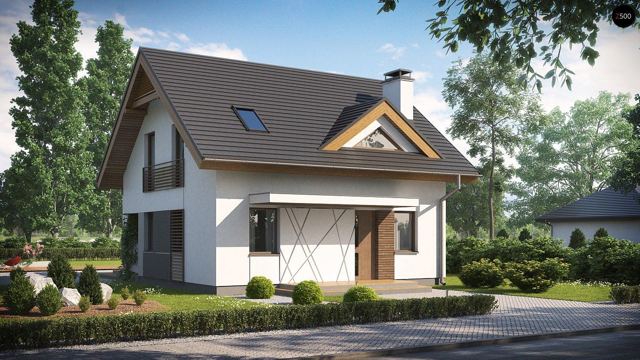 Проект дома Z163 V1 - 1