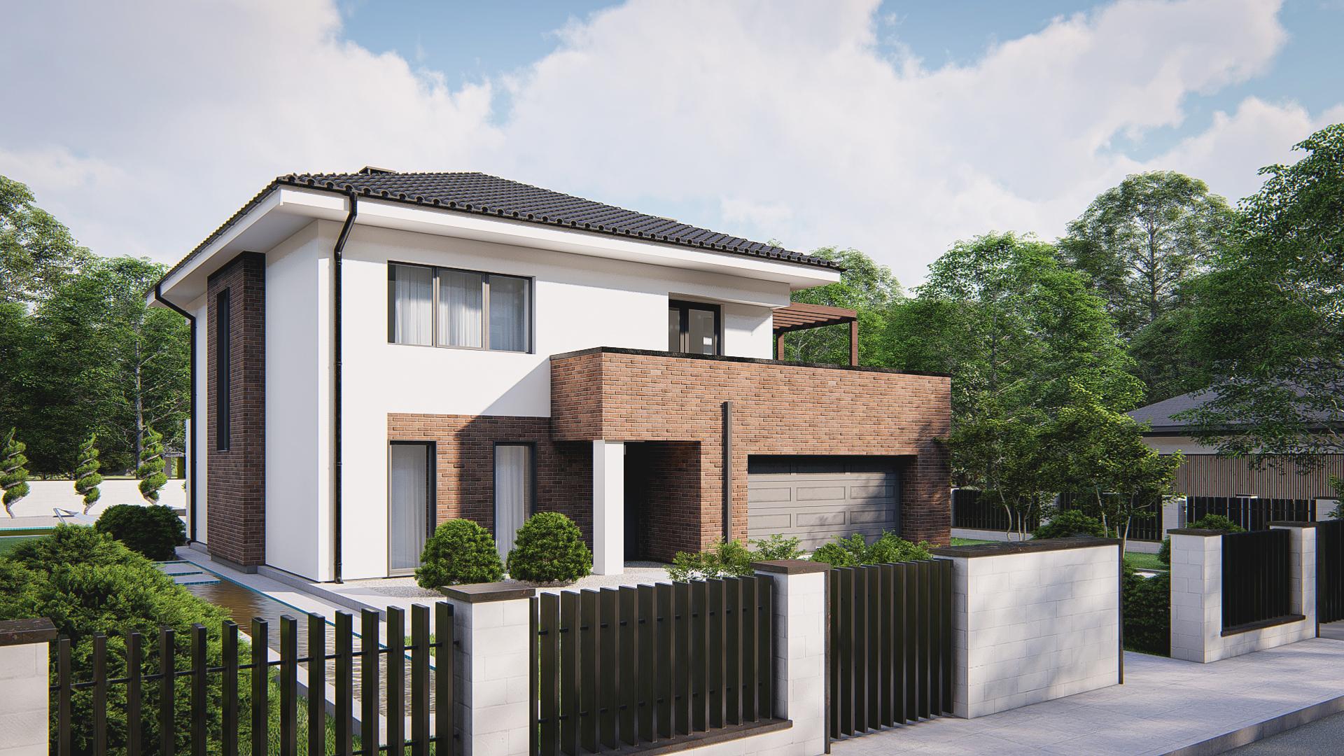 Проект дома Zz255