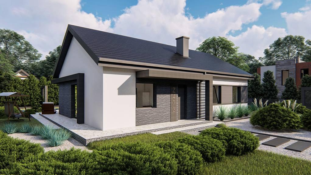 Проект дома Z473 V1