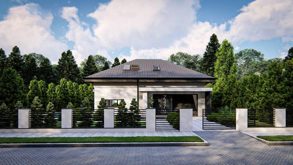 Проект дома Z479 - 1