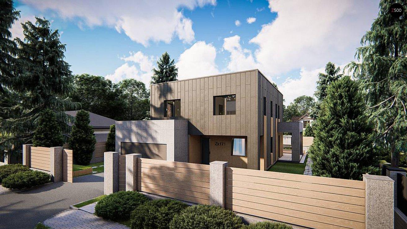 Проект дома Zx171 - 1