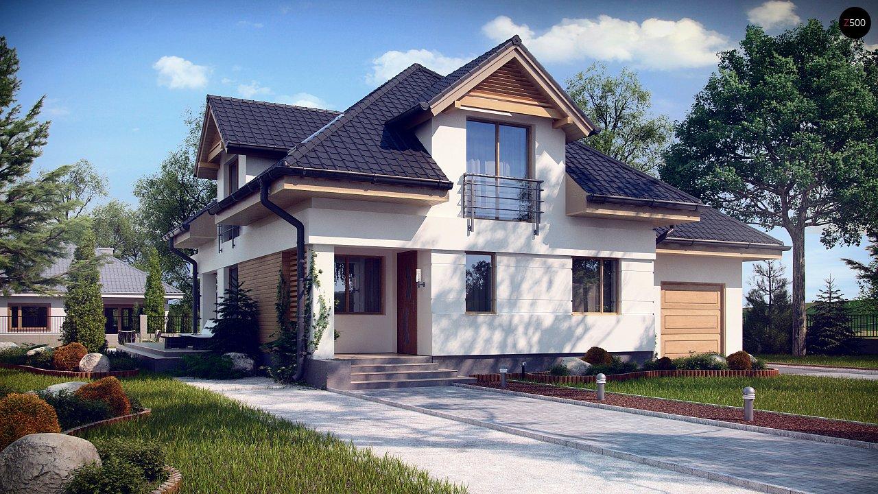 Проект дома Z284