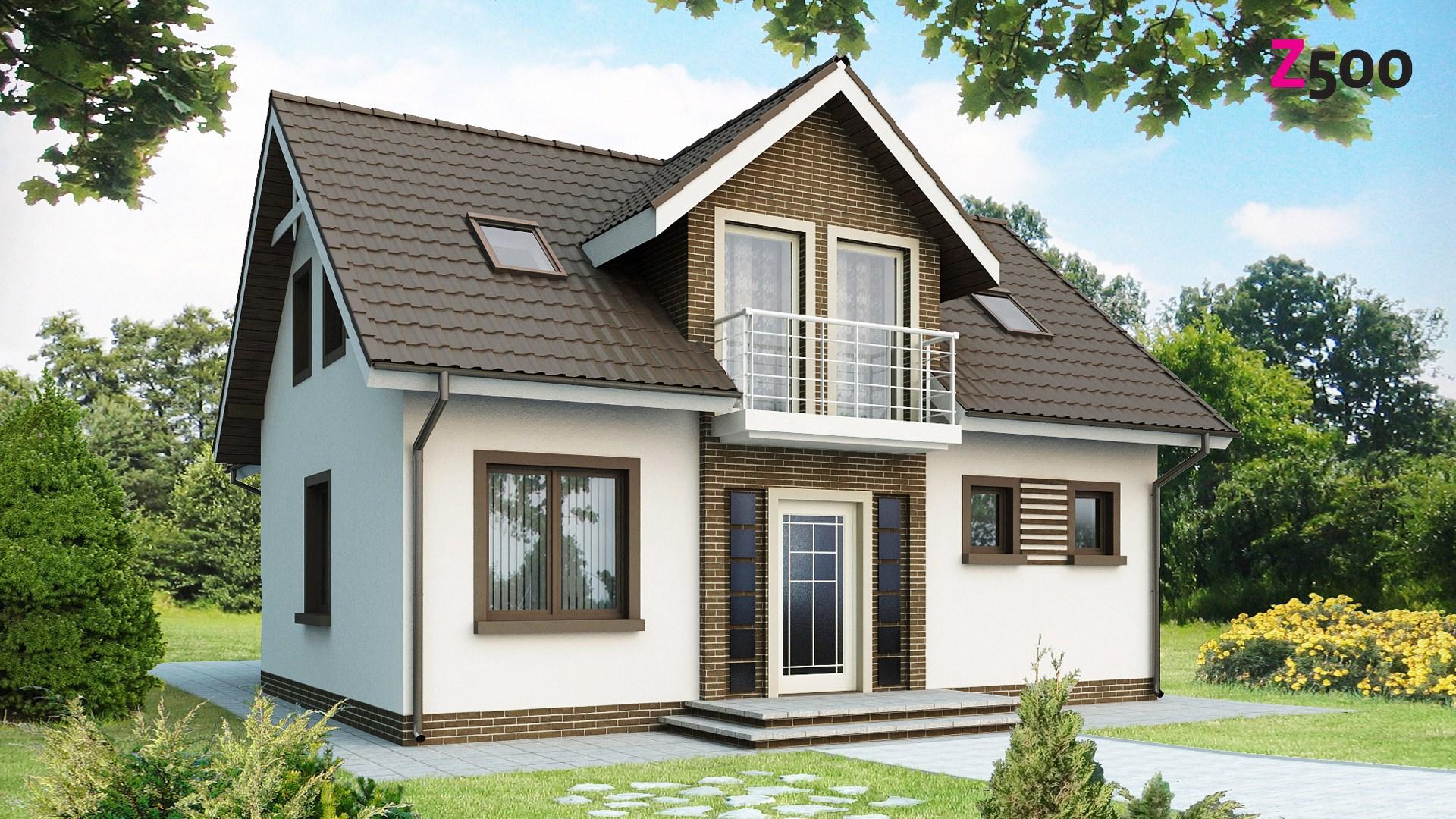 Проект дома Z13 - 1