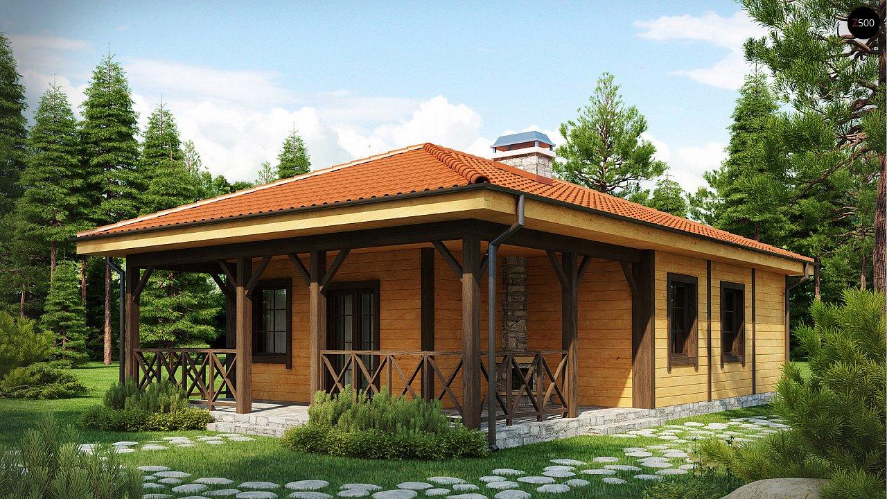 Проект дома Z16 - 1