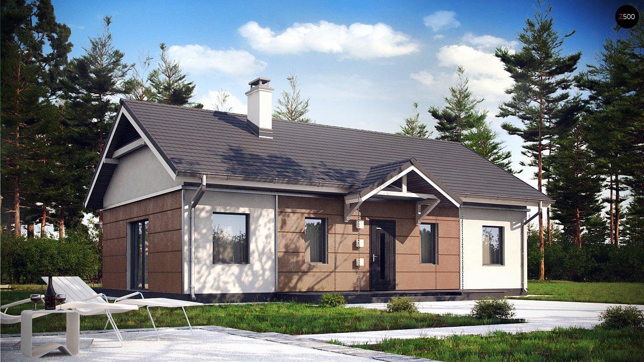 Проект дома Z241