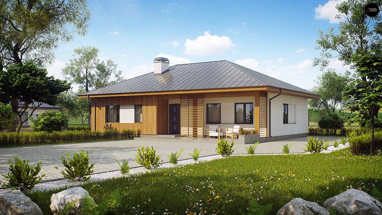 Проект дома Z176 - 1