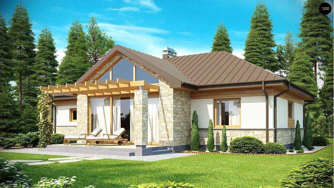 Проект дома Z151