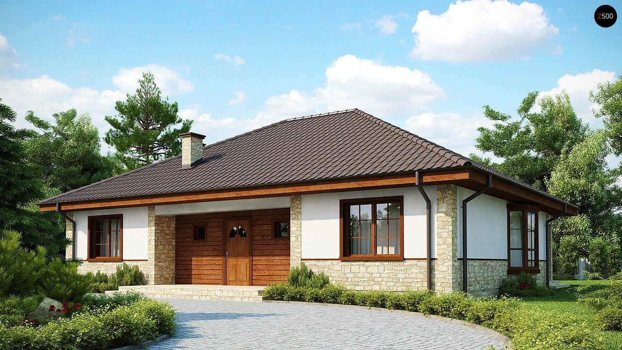 Проект классического дома z10