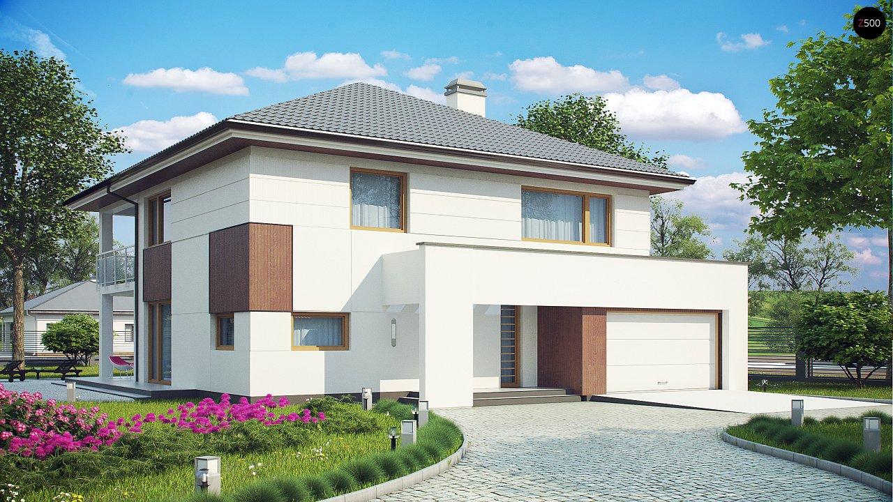 Проект дома Z156 - 1