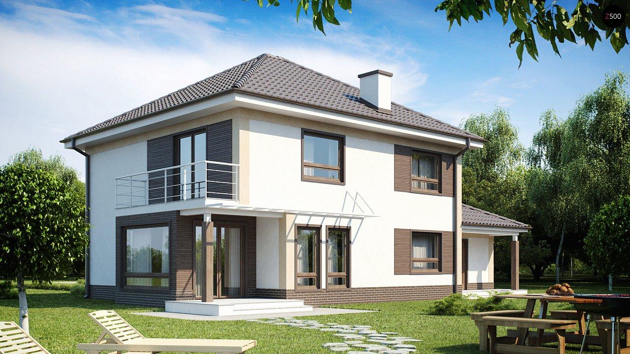 Проект дома Zx12