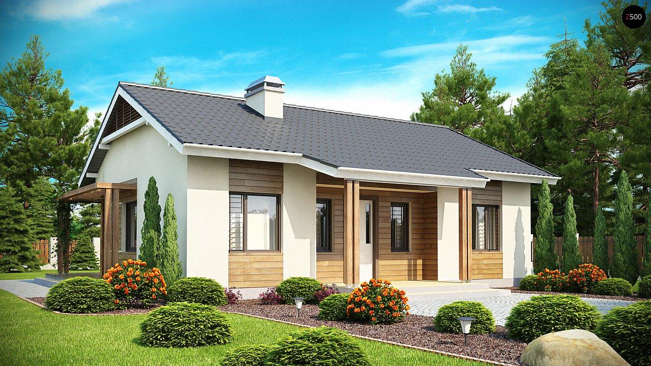 Проект дома Z136