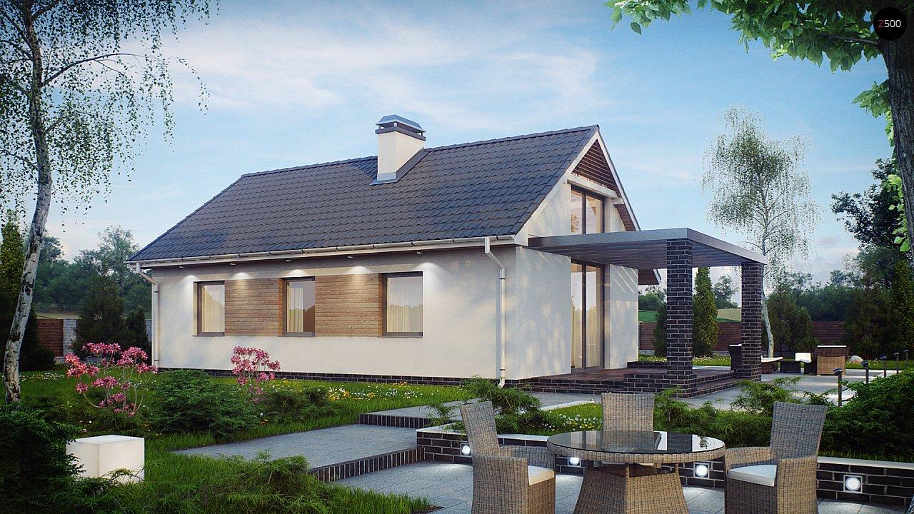 Проект дома Z139