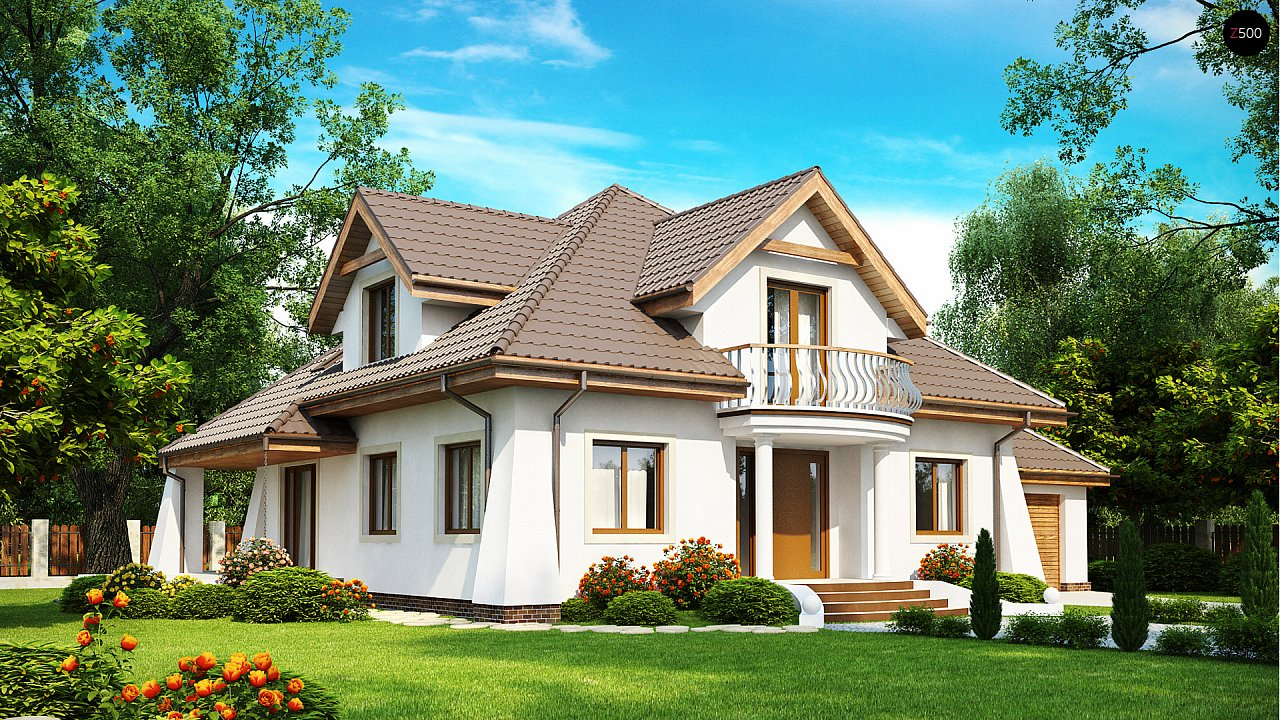 Проект дома Z109