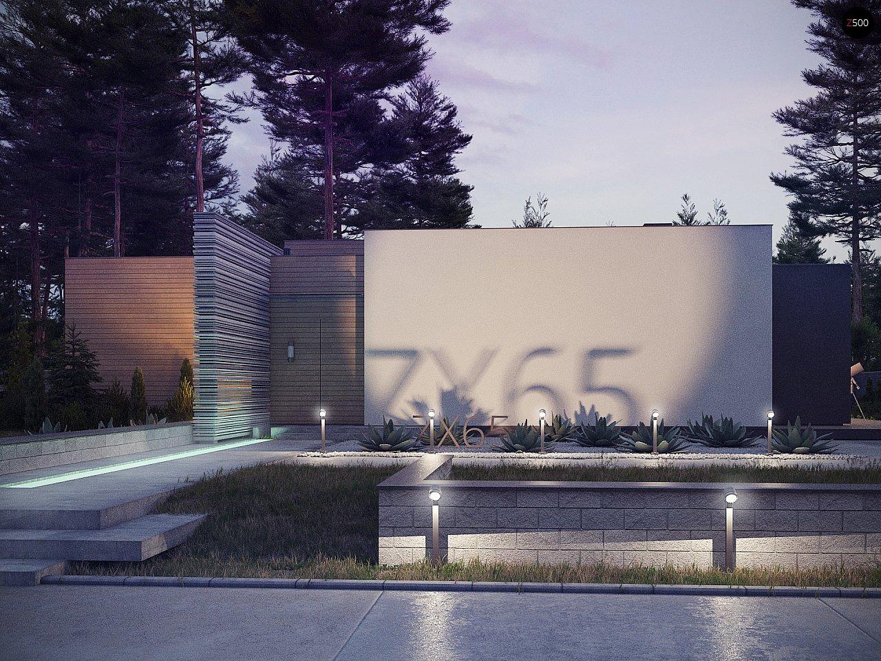 Проект дома Zx65