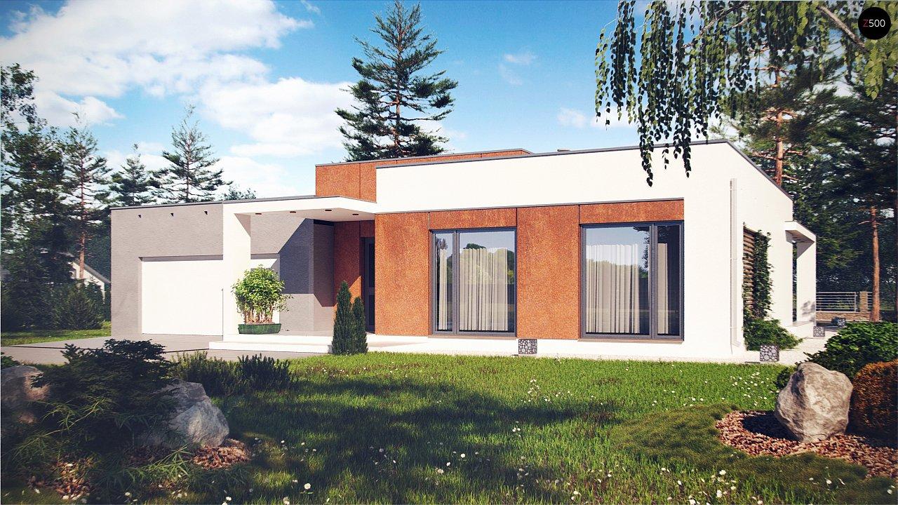 Проект дома Zx104 - 1