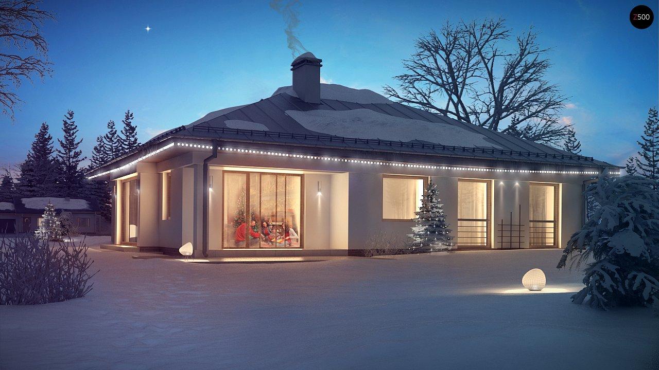 Проект дома Z207