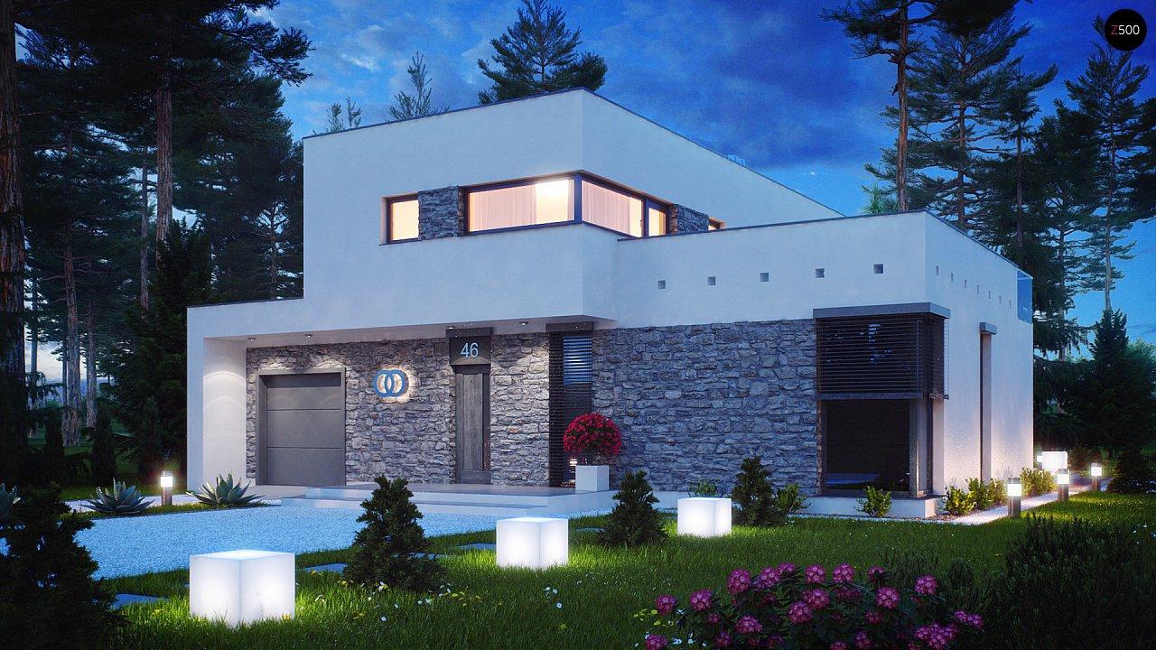 Проект дома Zx46
