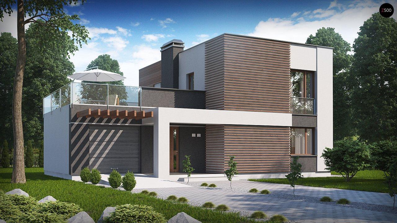 Проект дома Zx41 v1 - 1
