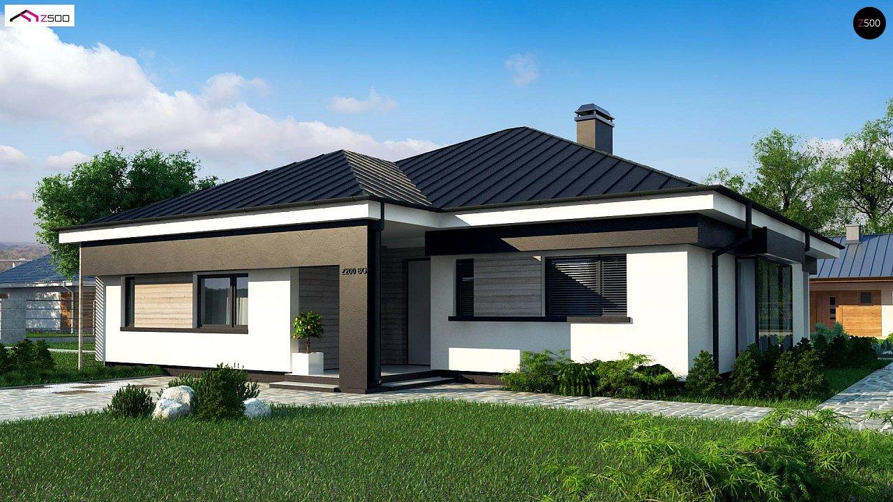 Проект дома Z200 BG - 1
