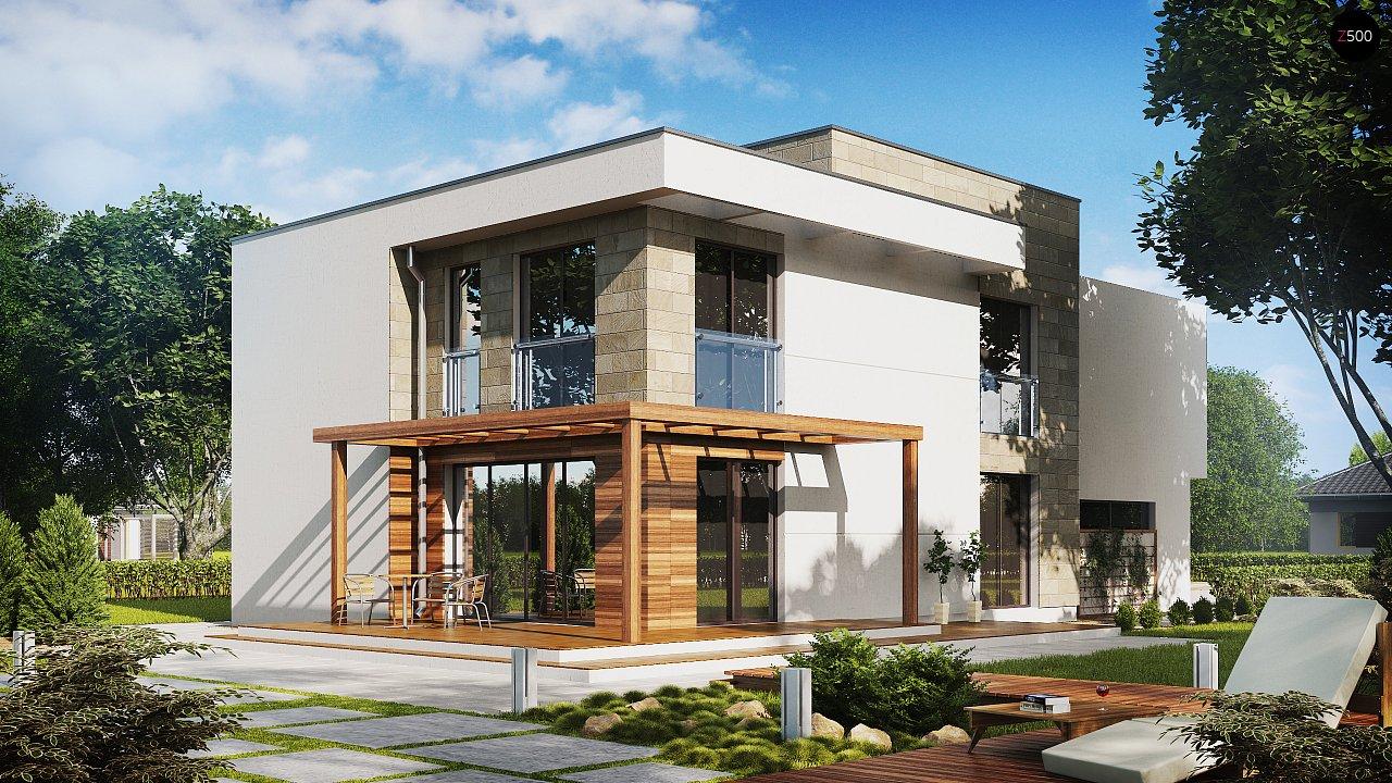 Проект дома Zx114