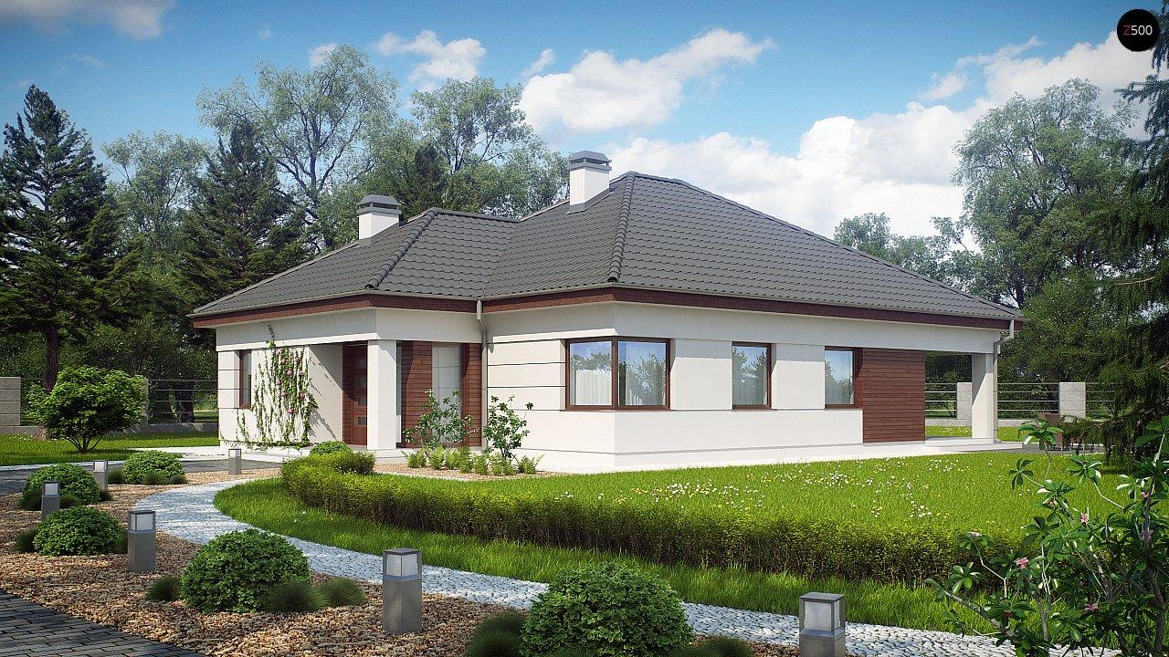 Проект дома Z195 - 1