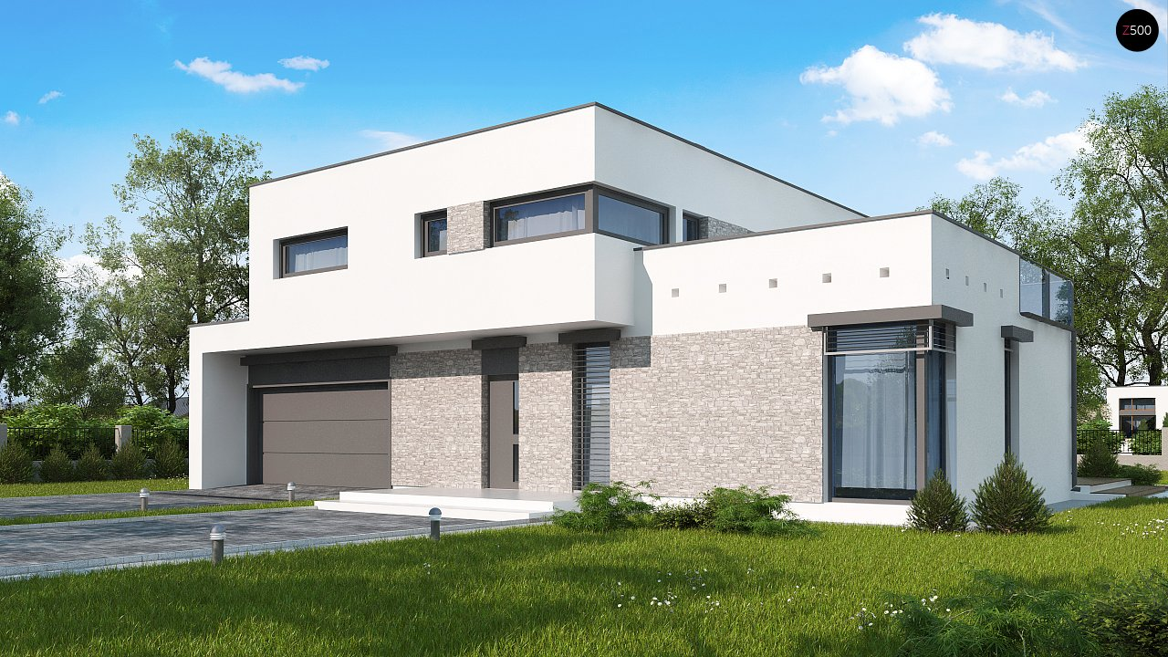 Проект дома Zx46 GL2