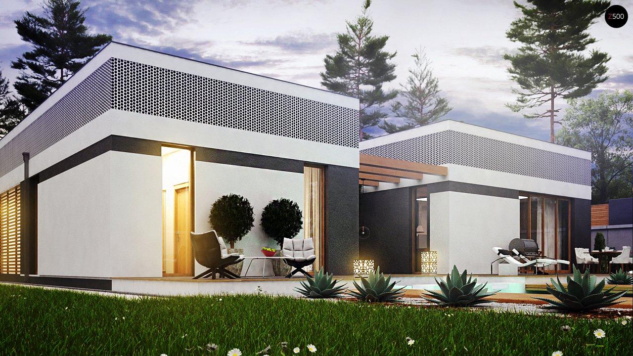 Проект дома Zx119 - 1