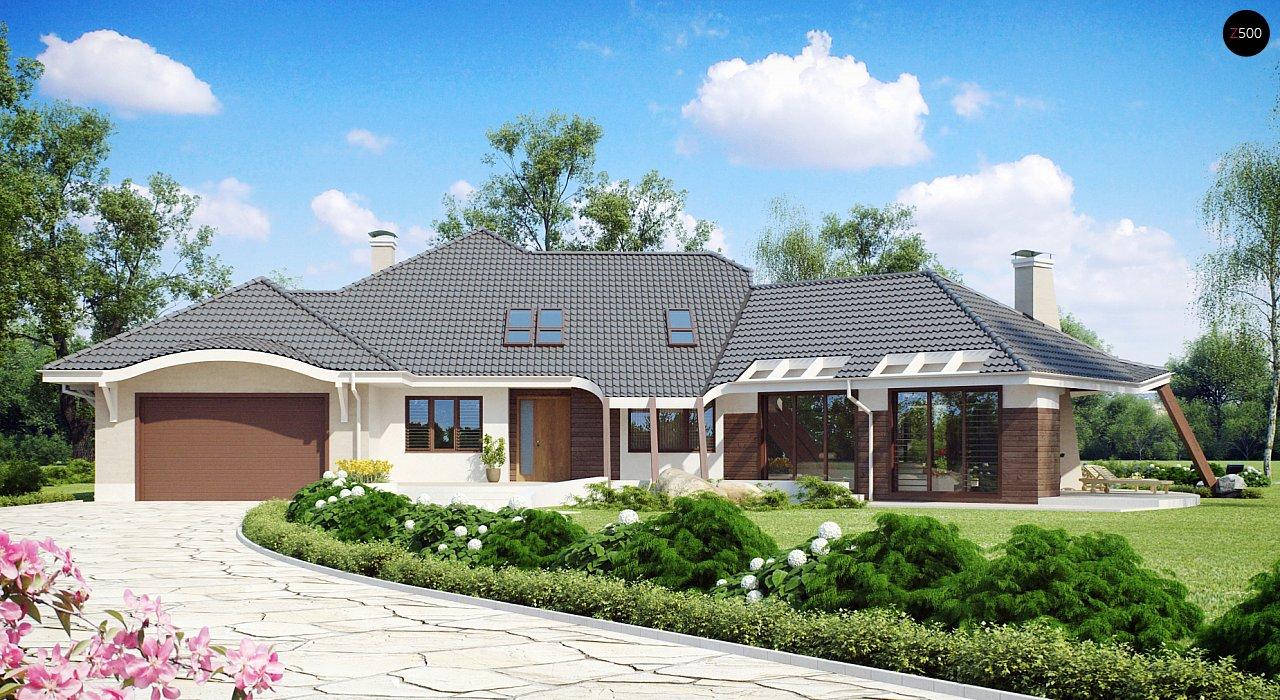 Проект дома Zr5