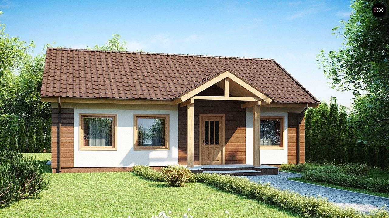 Проект дома Z61