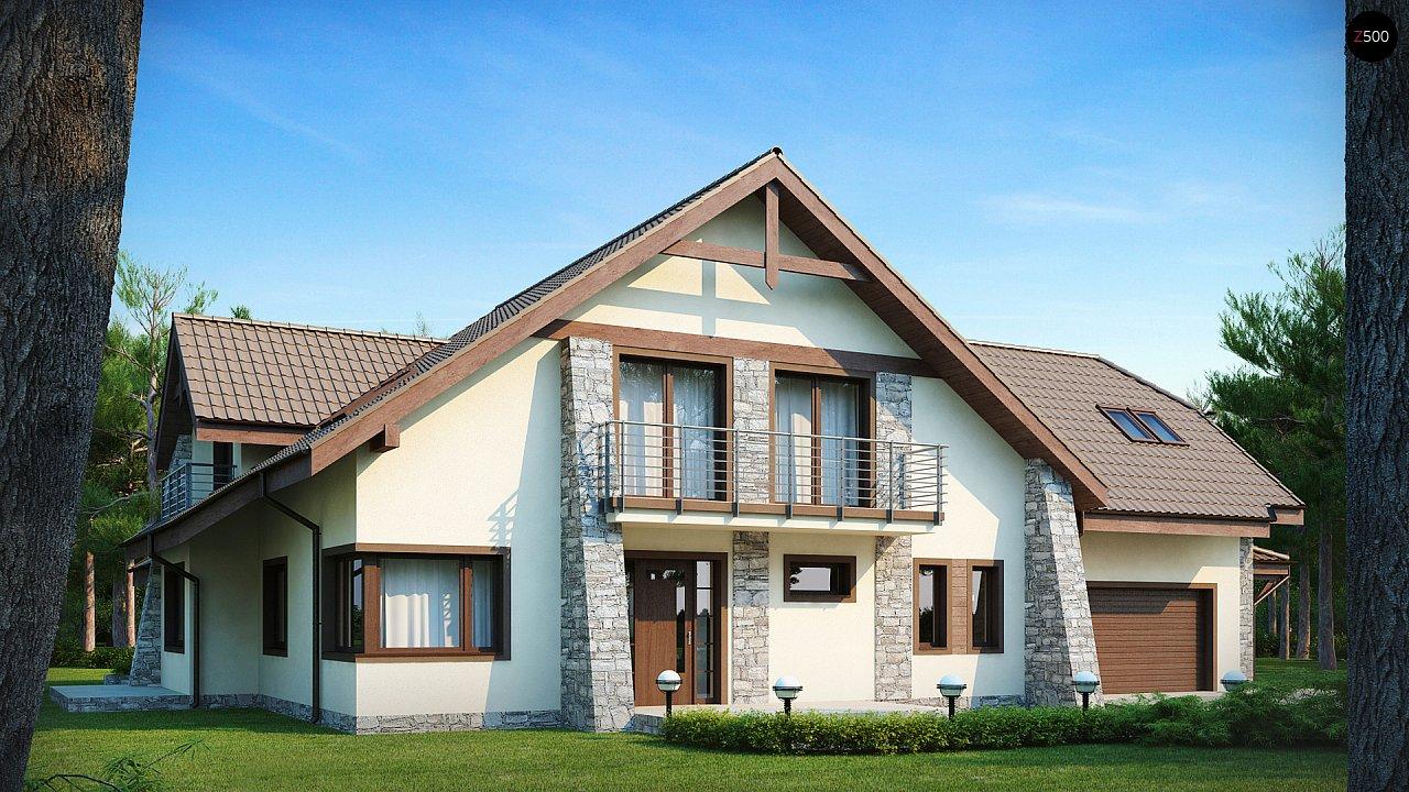 Проект дома Z59