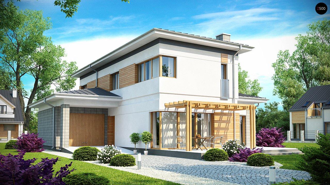 Проект дома Zx25
