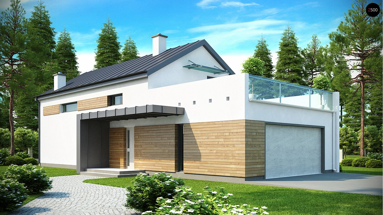 Проект дома Zx60