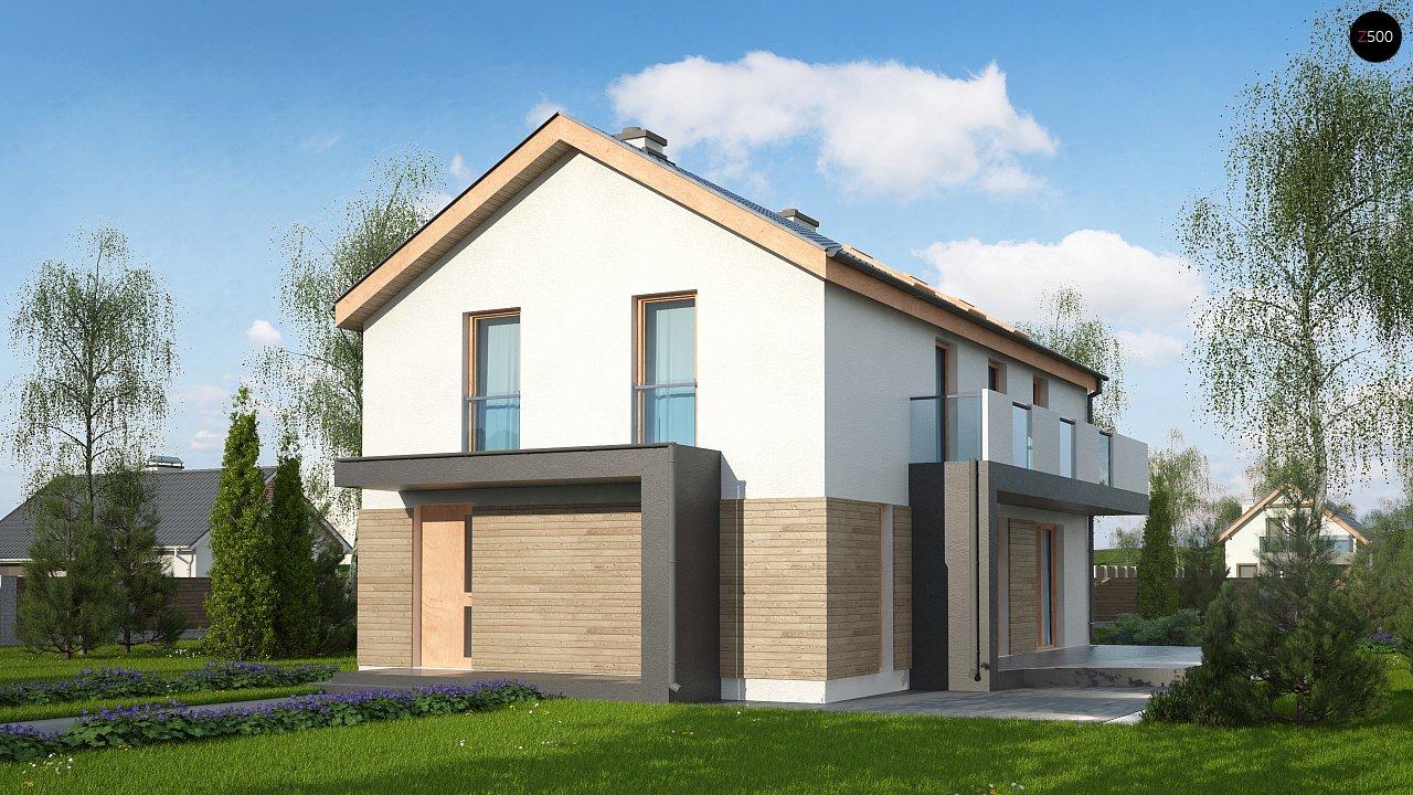Проект дома Zx60 BG