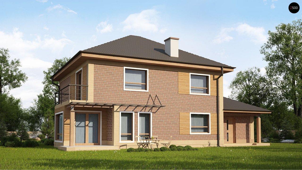 Проект дома Zx12 k