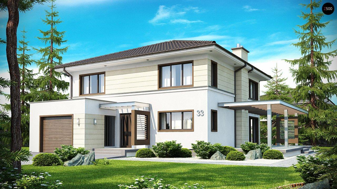 Проект дома Zx33